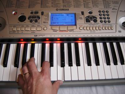 Yamaha EZ 30 keyboard - stock photo 2